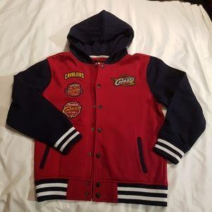 Cleveland Cavaliers boys medium sweatshirt jacket